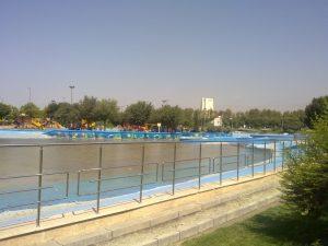 دریاچه تفریحی آزادی-پارک المهدی کارفرما : شهرداری منطقه 9 تهران متراژ : 15.000 متر مربع سال اجرا : 89