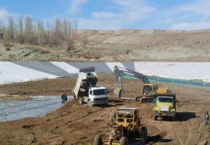 استان مرکزی نام پروژه : احداث دریاچه تفریحی کارفرما: شرکت آفتاب شرق سال اجرا:1387 ميزان مصالح بكار رفته : 8.000 متر مربع